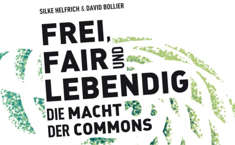 """Silke Helfrich sagt: """"Für- und Versorgen ohne Wachstum! Mit Commons geht das."""""""